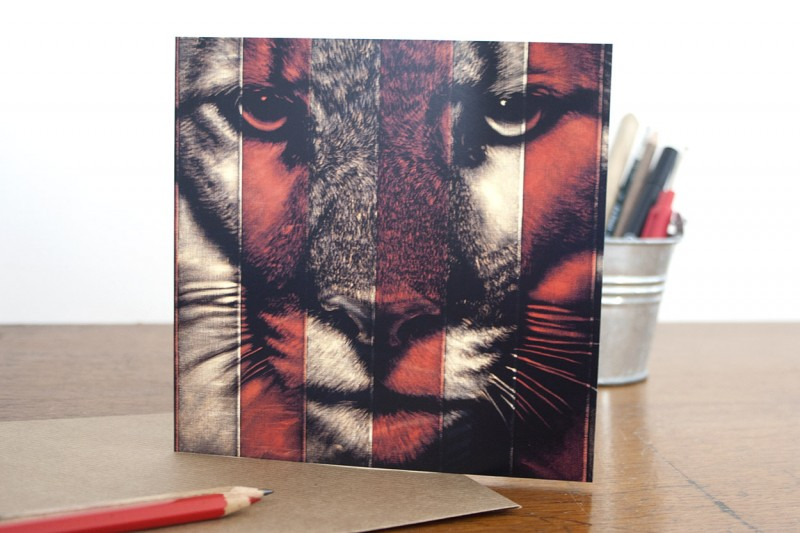 Puma Greetings Card - Click here to view and order this product